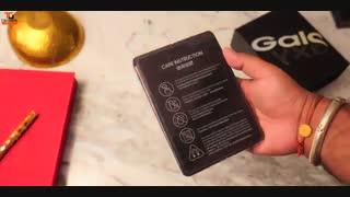 جعبه گشایی گوشی Samsung Galaxy Fold