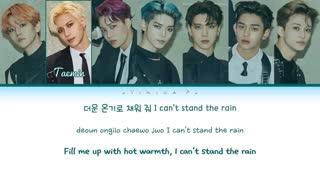 SuperM (슈퍼엠) - 'I Can't Stand the Rain' Lyrics