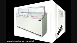 اجاره وسایل و تجهیزات نمایشگاهی و غرفه سازی - فریزر یخچال صندوقی ایستاده خوابیده ویترینی