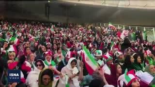 برد پرگل فوتبال ایران در حضور زنان