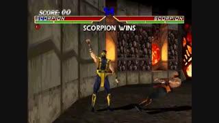 8 دقیقه گیم پلی بازی مورتال کمبت Mortal Kombat 4 Hardcore Attack حملات سخت برای کامپیوتر