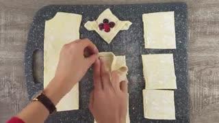 طرز تهیه تارتلت با خمیر هزارلا