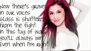 Ariana Grande -  Love The Way You Lie LYRICS!