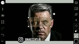 ساختن عکس پروفایل اینستاگرام رونالدو