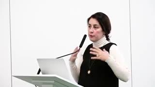 سخنرانی دکتر پسخو استاد دانشگاه دوستی ملل روسیه در کنفرانس بین المللی مرجانی
