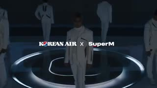 تیزرتبلیغ  SuperM برای Korean Air