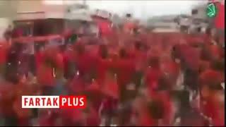 رپ خوانی حمله کنندگان به کنسولگری ایران در کربلا در عزاداری امام حسین(ع)