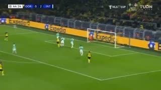 خلاصه بازی تماشایی و دیدنی دورتموند 3 - اینتر 2 (لیگ قهرمانان اروپا