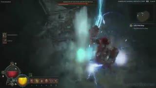گیم پلی 25 دقیقه ای از بازی Diablo 4