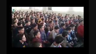 همخوانی غلام نوکراتم. آقای من. مدرسه امام سجاد(ع) شهرک شهید محلاتی