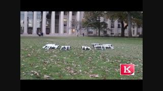تفریح رباتیک دانشجویان دانشکده مکانیک ام آی تی MIT را ببینید
