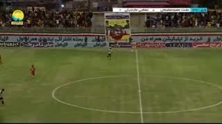 خلاصه بازی نفت مسجد سلیمان 0 - 0 نساجی مازندران