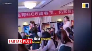 اقدام عجیب رؤسای چینی برای تشکر از کارمندانشان