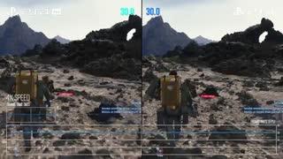 مقایسهی گرافیک Death Stranding بر روی PS4 و PS4 PRO