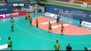 دیدار تیم های هندبال فولاد سپاهان و العربی  در قهرمانی باشگاه های آسیا2019