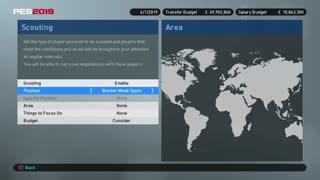 آموزش ویدئویی بازی PES2019 به زبان فارسی (نقل و انتقالات در ML بخش 1)