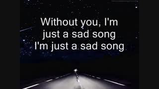 Sad Song-We The Kings [Lyrics]