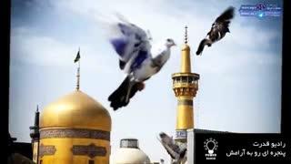 دلنوشته امام رضا(ع)- مولای غریبم سلام