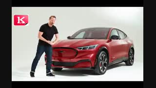 رونمایی از خودرو Ford Mustang Mach-E خودروی اسپرت با قلب برقی