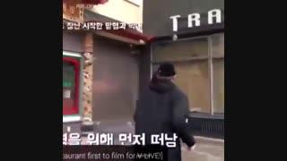 رابطه موش و گربه ای جونگ کوک و مامان جین(bts/jung kook/jin)