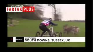 مسابقات جهانی سورتمه سواری در گل و لای انگلیس