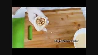 سمبوسه نان تست و مرغ | فیلم آشپزی