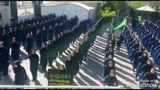 سرود صبحگاهی مدرسه دخترانه زنجان( عشق یعنی)....iran