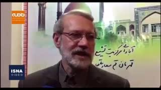 لاریجانی: پس از سه دوره نمایندگی مردم قم، برنامهای برای حضور در انتخابات مجلس ندارم