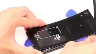 آموزش تعمیر دوربین موبایل Sony Xperia XA1