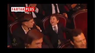 ذوقزدگی پسر مسی از گرفتن توپ طلا توسط پدرش