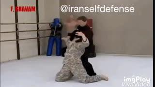 آموزش دفاع شخصی